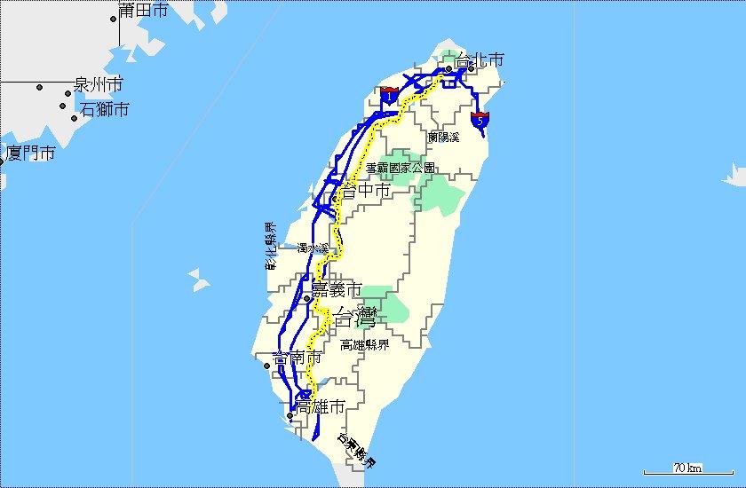 地圖 路線:15 省道台3線 馬克褚工作室