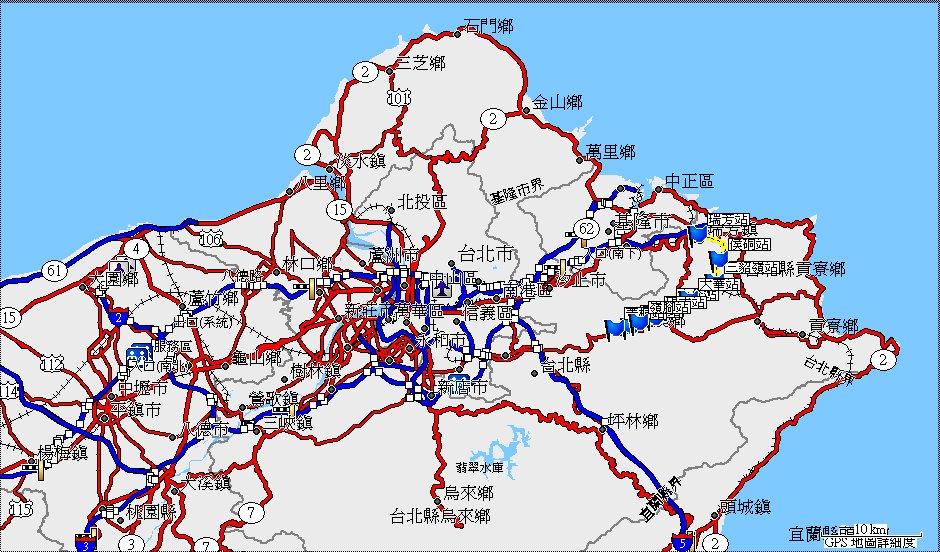 地图-- 路线:511.铁路纪录:平溪线
